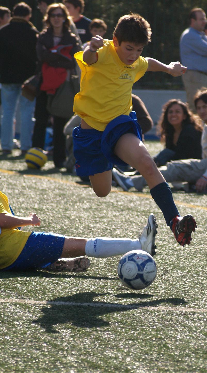 el efecto de la edad relativa en el futbol