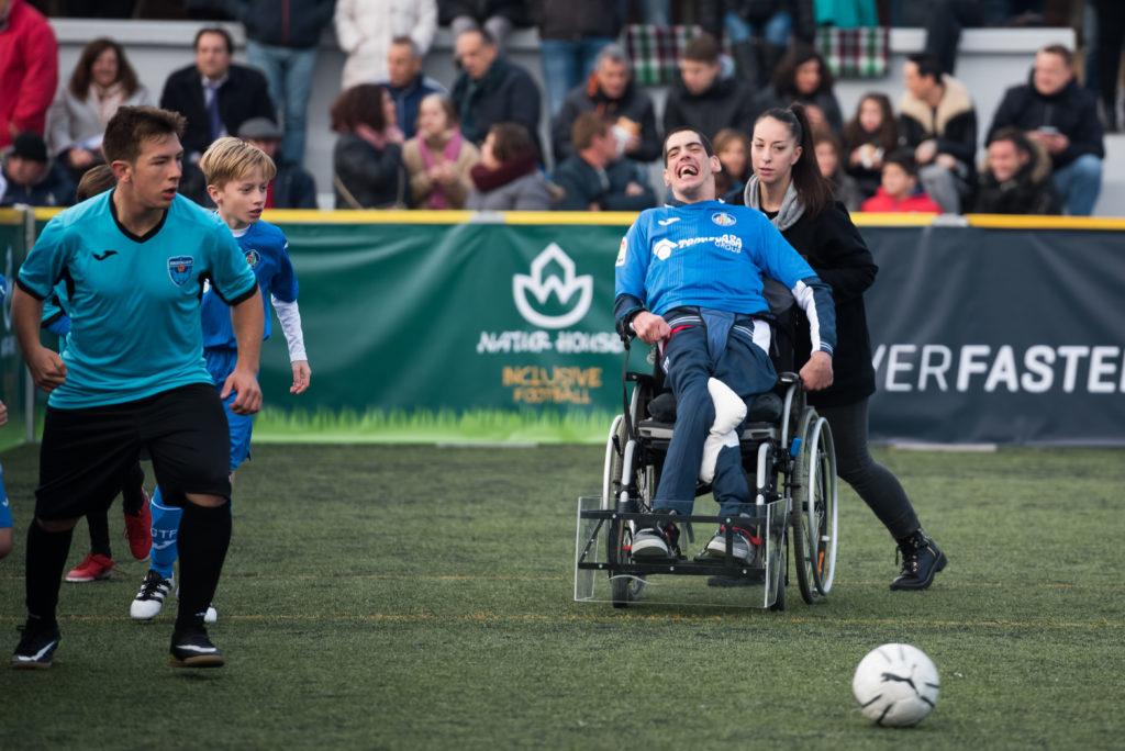 inclusive futbol